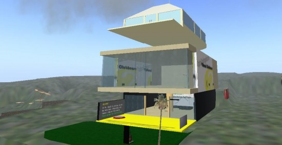 Jason Ng's office in Second Life.
