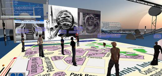 Building a histroric recreation of the 1939 World's Fair on ReactionGrid.