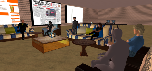A meeting of the Hypergrid Entrepreneur Group, of which Pablo is a member.