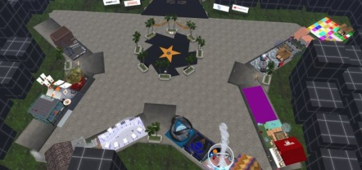OSG2B Celebration region on the OSGrid