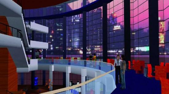 3DXplorer conference center. Photo courtesy Altadyn Corp.
