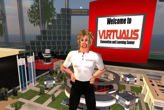 Dan Parks at Virtualis Convention Center