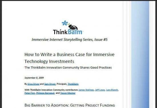 thinkbalm-report