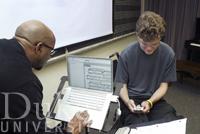 Technology in education at Duke University. (Photo courtesy Duke University.)