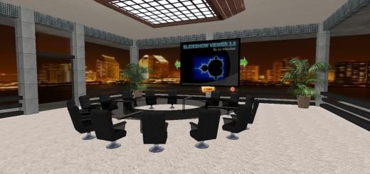 Corporate meeting room (Image courtesy Immercio.)