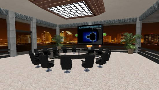 Corporate meeting room (Image courtesy Immercio.)