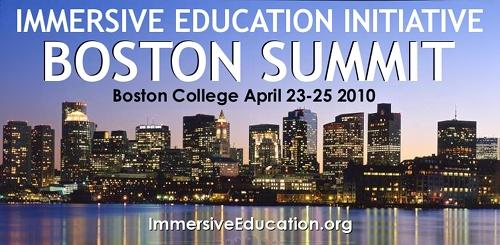 Immersive Educational Intiative's 2010 Boston Summit