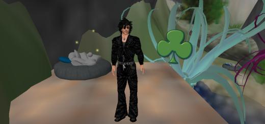 Lee Oldrich's hides a Shamrock for the St. Patrick's Day scavenger hunt on OSGrid.