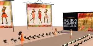 Virtual runway (Image courtesy Fashion Research Institute)