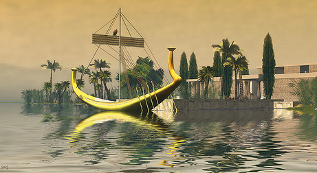 The Nile Image by Loki Popinjay. (Image courtesy Heritage Key.)