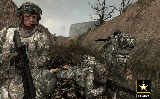 The US Army is also using a virtual recruiter on its goarmy.com website. (Image courtesy US Army.)
