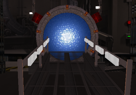 A hypergrid portal on the Logicamp grid.