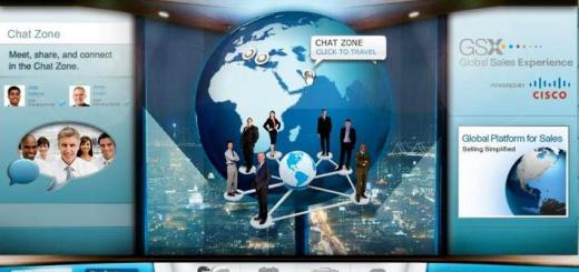 George P. Johnson worked with Cisco to produce their Global Sales Experience event on the InXpo platform. (Image courtesy George P. Johnson.)