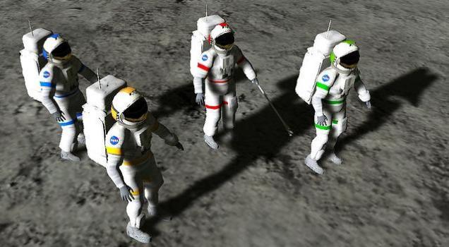 Moon World simulation. (Image courtesy Avatrian, Inc.)