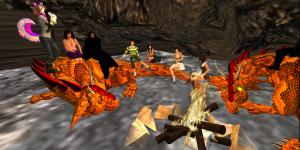 YFC club meeting in Teen Second Life (Image courtesy YFC.)