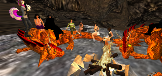 YFC club meeting in Teen Second Life (Image courtesy YFC.)