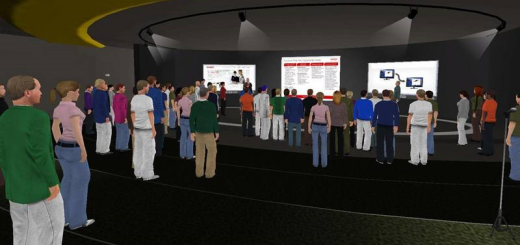 Avaya web.alive launch event. (Image courtesy Avaya.)