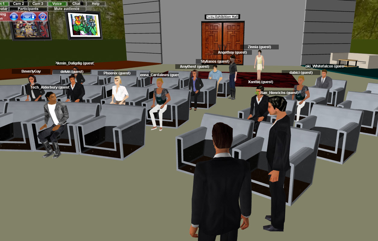 Ten Challenges 3D Virtual Meeting Platforms Face in Corporations –