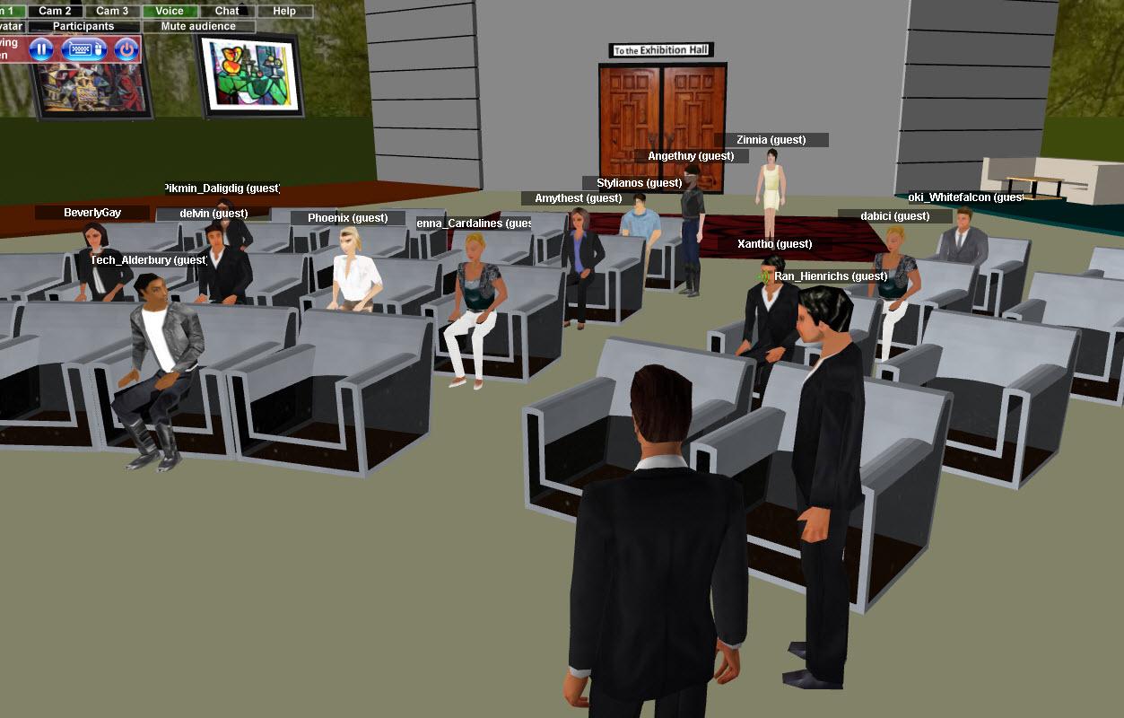 Virtual Meeting Room Avatar