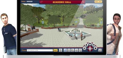 Campus tour. (Image courtesy Designing Digitally Inc.)