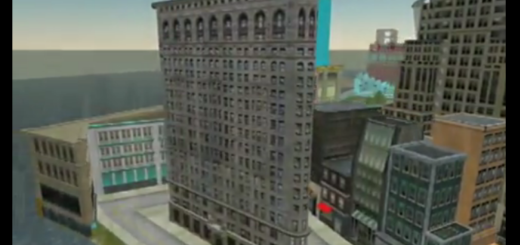 CSI New York filmed machinima in Second Life for a 2007 show. (Click image to watch video on YouTube.)
