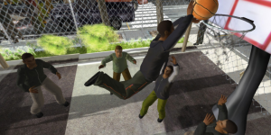 Ludocraft realXtend basketball avatar