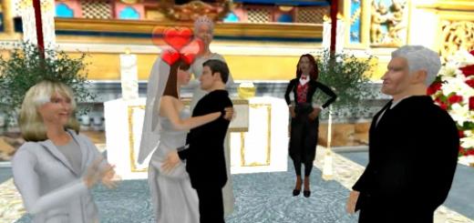 Utherverse hosts Virtual Royal Wedding.
