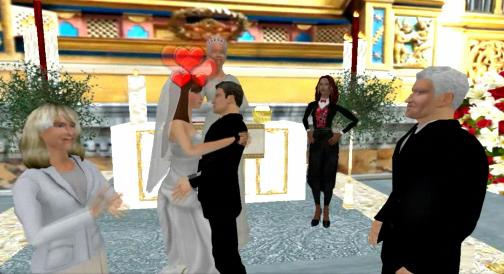 utherverse hosts virtual royal wedding