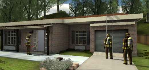 Firefighting training simulation by Designing Digitally Inc.
