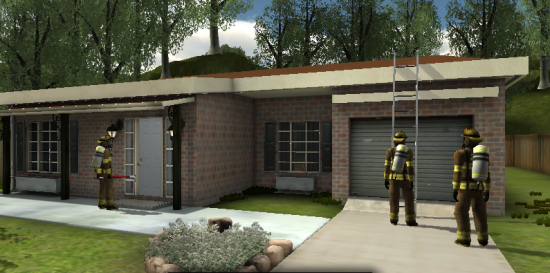 Firefighting training simulation by Designing Digitally Inc.
