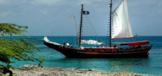 Pirate ship. (Photo by Gary Romin.)