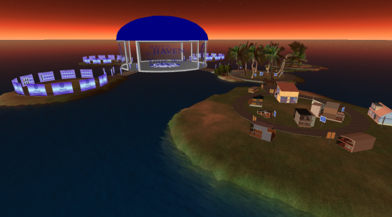 Welcome Centre region on Haven: Your World. (Image courtesy Haven.)