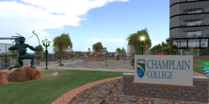 CampChamp1 is one of several Champlain College regions on OSGrid.