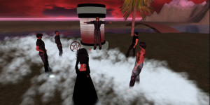 Sun Curse, a vampire role playing game system. (Image courtesy Island Oasis.)