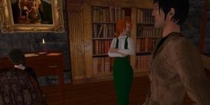 Virtual House of Usher on JokaydiaGrid. (Image courtesy Joe Essid.)