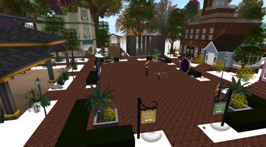 Welcome to OpenSim -- or, more specifically, to the welcome region on FleepGrid.