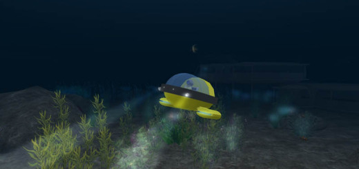 Justin Reeve's Undersea Observatory is available as a free, Creative Commons-licensed OAR download. (Image courtesy Justin Reeves.)