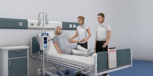 Nursim virtual healthcare training in VastPark. (Image courtesy VastPark.)
