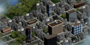 GoVenture City in MediaSpark's GoVenture business simulation game.