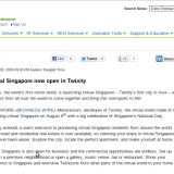 Screenshot-Virtual Singapore now open in Twinity | Business Wire - Google Chrome