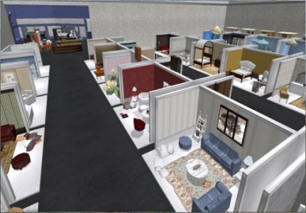 OpenSim and Second Life offer a wealth of both on-line and in-world shopping venues.