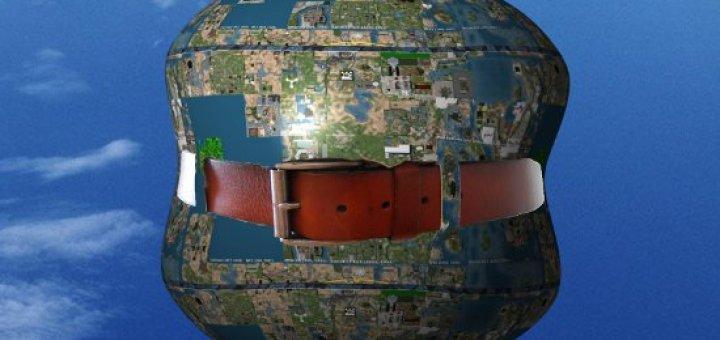 globe map grid