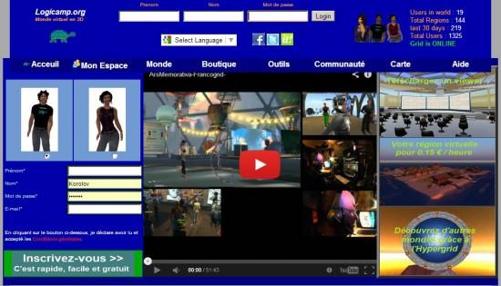 Logicamp home page at www.logicamp.dyndns.org