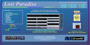 Home page of the Lost Paradise grid, at www.lpgrid.com.