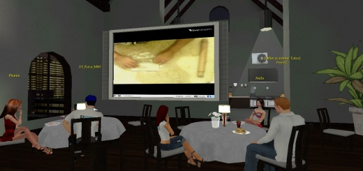 Like other Utherverse products, UtherAcademy is an immersive virtual world that requires users to download a proprietary viewer to access it. (Image courtesy Utherverse.)