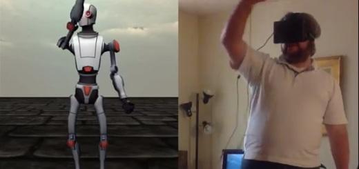Oculus Rift robot