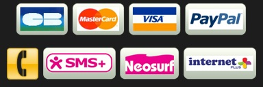 Payment methods accepted by Cash Services.
