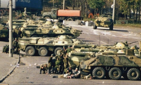 Twenty years ago, I was a war journalist in Russia and other former Soviet republics. (Photo by Maria Korolov)