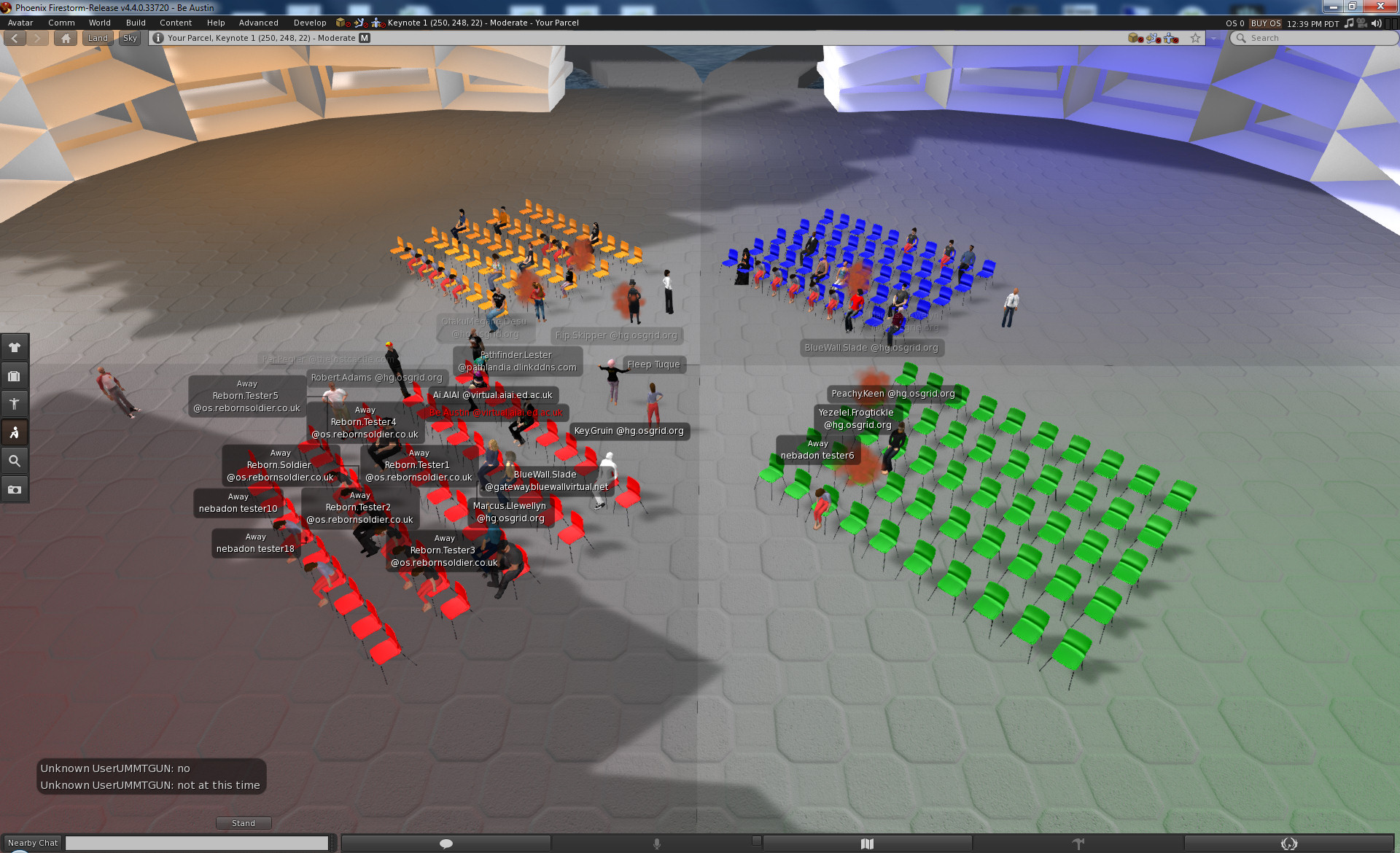 New OpenSim release supports groups, export perms