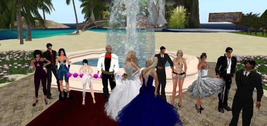 A recent wedding on the AviWorlds grid. (Image courtesy AviWorlds.)